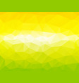 yellow green abstract background vector image vector image