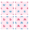 bashower related patterns birds duck vector image