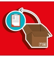 box pack carton delivery vector image vector image