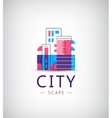 City logo vector image
