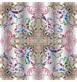 elegance vintage paisley seamless pattern vector image vector image