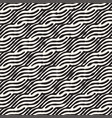hand drawn striped seamless pattern with vector image vector image