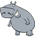 hippopotamus cartoon vector image