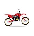 Motocross Bike Cartoon vector image