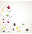 background with butterfly vector illustration vector image vector image