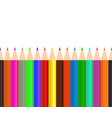 color pencil pencil seamless background crayon vector image vector image