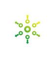distribution concept icon vector image