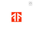 Initial f logo design for business abstract icon
