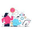 office paperwork deadline concept vector image