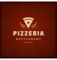 Pizzeria Restaurant Shop Design Element vector image vector image
