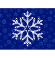 seamless background of snowflakes vector image vector image
