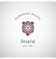 Shield Security Logo vector image vector image