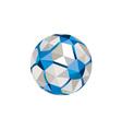 Soccer Football Ball Low Polygon vector image