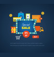 special sales offers promotions discounts vector image