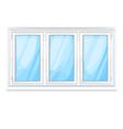 Big window vector image vector image