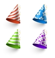 Birthday party funny hats photo booth vector image