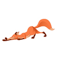 Cartoon Fox vector image