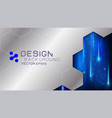 frame border dimension with light movement vector image vector image