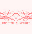 valentines day abstract technology vector image vector image