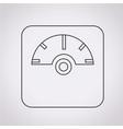 weighting apparatus icon vector image