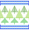 cross stitch embroidery christmas design vector image vector image