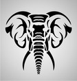 Elephant Tribal vector image vector image