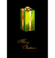 Green Gift vector image