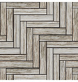 Grey wood parquet vector image