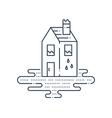Housekeeping pipe leaking plumbing repair vector image vector image