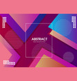 modern colorful trendy background vector image vector image