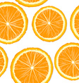 Orange slices seamless vector image