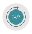Support online 24 hours vector image