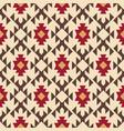 tribal southwestern native american navajo pattern vector image