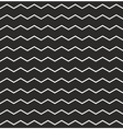 Zig zag black and white chevron tile pattern vector image vector image