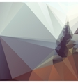 Abstract polygonal background modern stylish vector image