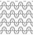 black abstract arabic seamless pattern fashion vector image vector image