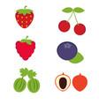 cartoon fruits cartoon fruits vector image vector image
