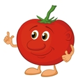 Character tomato vector image vector image