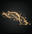 glow light effect magic concept twinkle vector image vector image