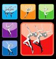 gymnastic vector image