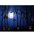 Horror Halloween Background vector image vector image