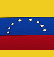 national flag venezuela vector image