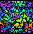 neon retro pattern multicolored bright vector image