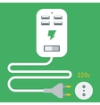 Phone Charging Icon vector image vector image
