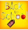 School marketing background EPS 10 vector image vector image