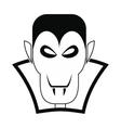 Vampire dracula icon vector image vector image