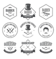 Barber Shop Labels vector image vector image