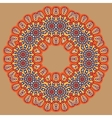 colored circular ornament in Oriental style vector image vector image
