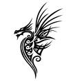 Dragon fantasy vector image vector image