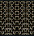 elegant line ornament pattern seamless pattern vector image vector image